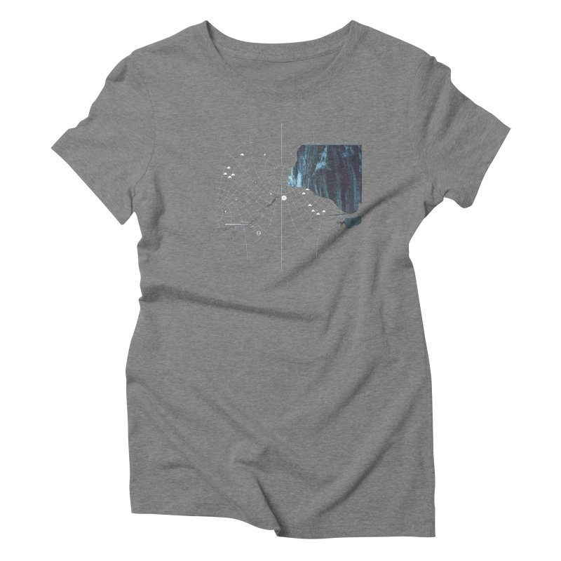 YouAreHere Women's Triblend T-Shirt by Prate