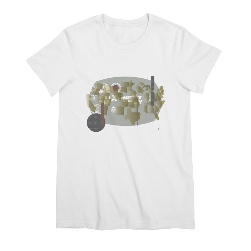 AMERICA Women's T-Shirt by Prate