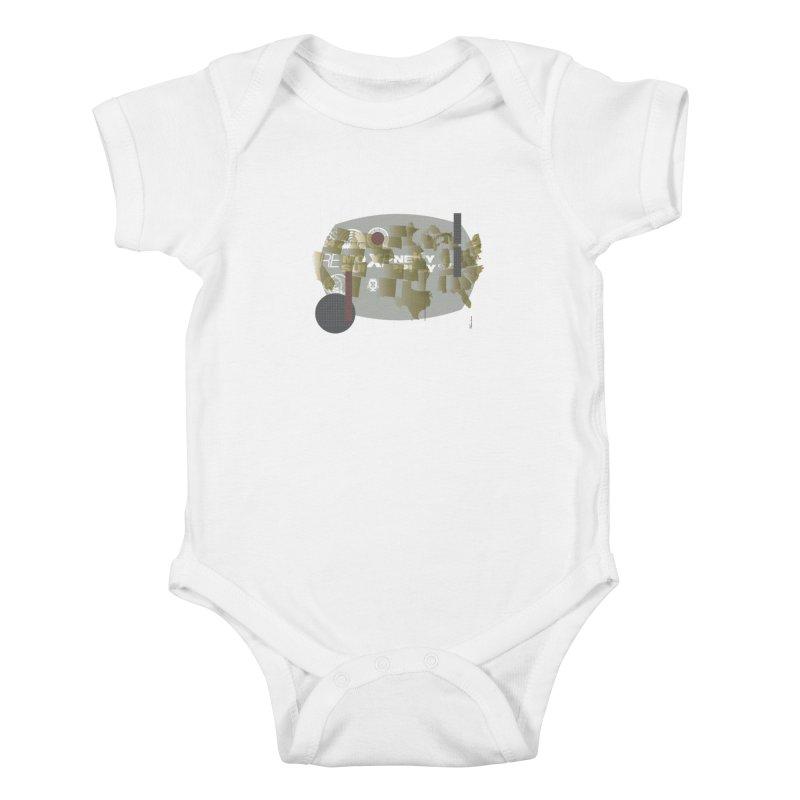 AMERICA Kids Baby Bodysuit by Prate
