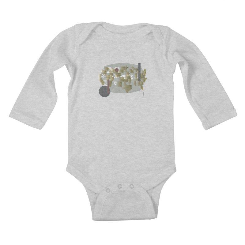 AMERICA Kids Baby Longsleeve Bodysuit by Prate