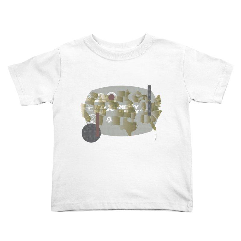 AMERICA Kids Toddler T-Shirt by Prate