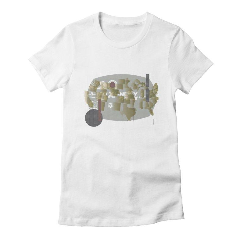 AMERICA Women's T-Shirt by Prate