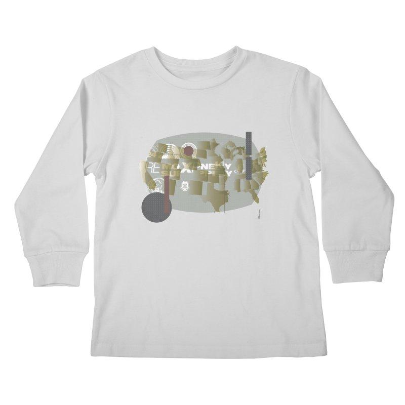 AMERICA Kids Longsleeve T-Shirt by Prate
