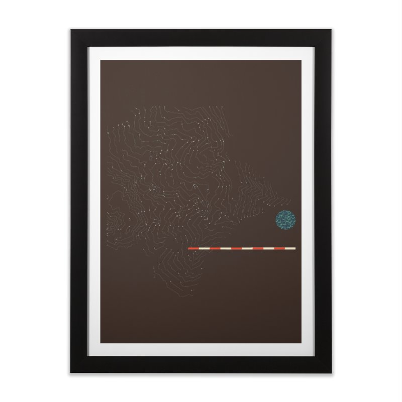 Layer 7 Home Framed Fine Art Print by Prate