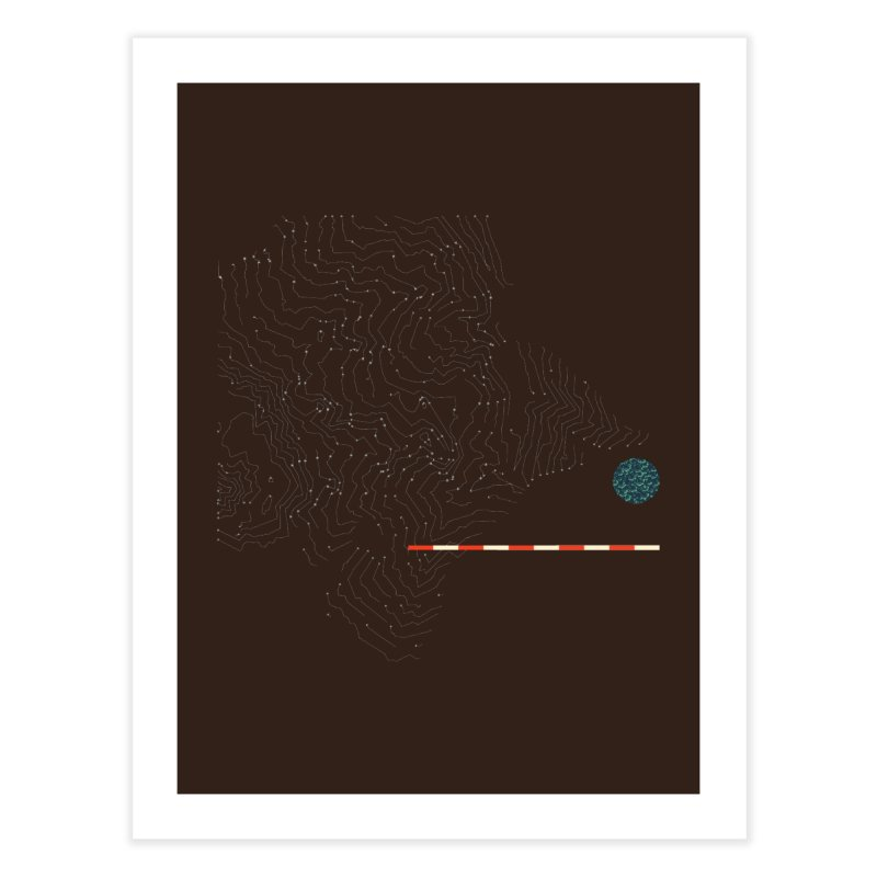 Layer 7 Home Fine Art Print by Prate