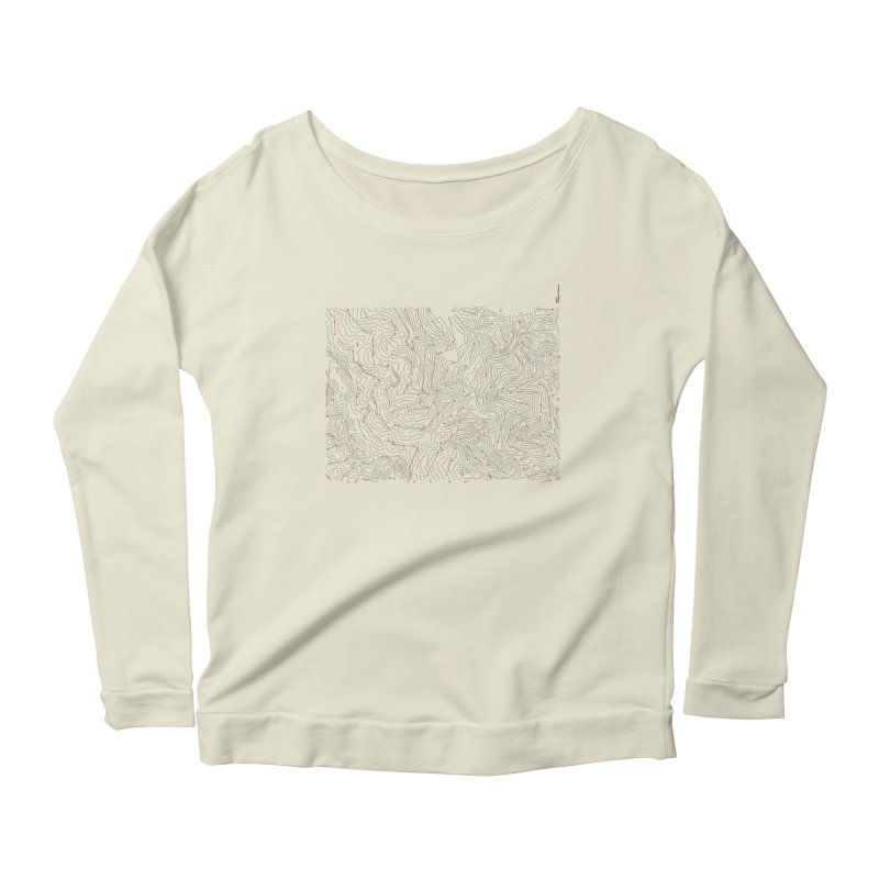 Layer 6 Women's Scoop Neck Longsleeve T-Shirt by Prate