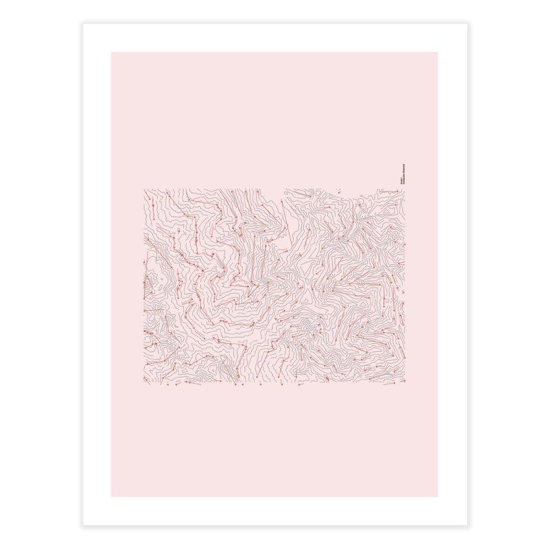 Layer 6 Home Fine Art Print by Prate