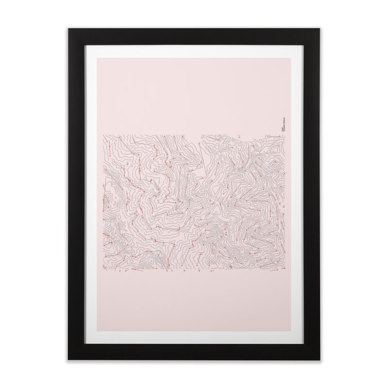 Layer 6 Home Framed Fine Art Print by Prate
