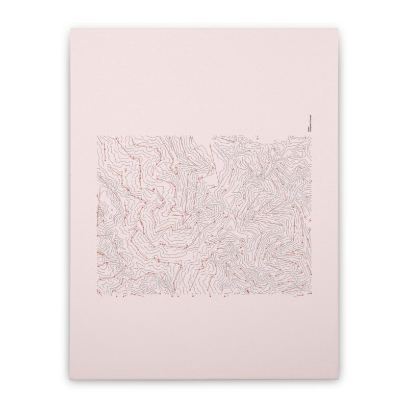 Layer 6 Home Stretched Canvas by Prate