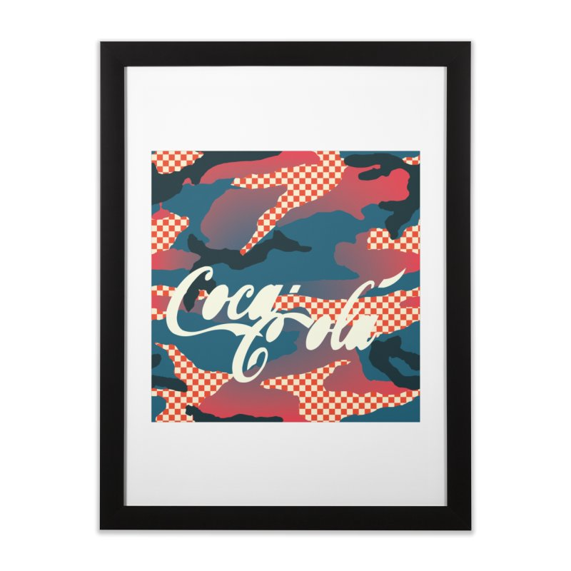 Layer 5 Home Framed Fine Art Print by Prate