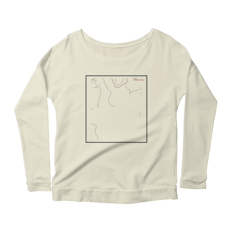 Layer 3 Women's Scoop Neck Longsleeve T-Shirt by Prate