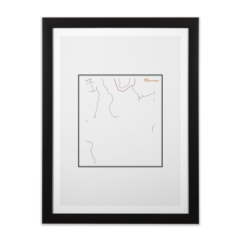 Layer 3 Home Framed Fine Art Print by Prate
