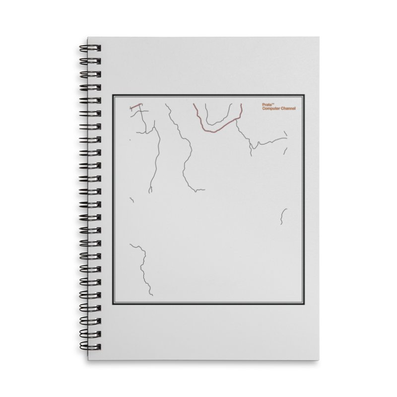 Layer 3 Accessories Lined Spiral Notebook by Prate