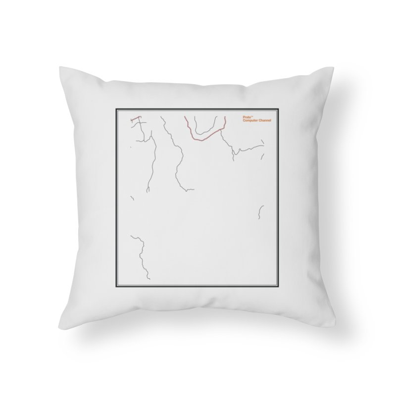 Layer 3 Home Throw Pillow by Prate