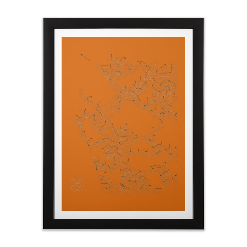 Layer 2 Home Framed Fine Art Print by Prate