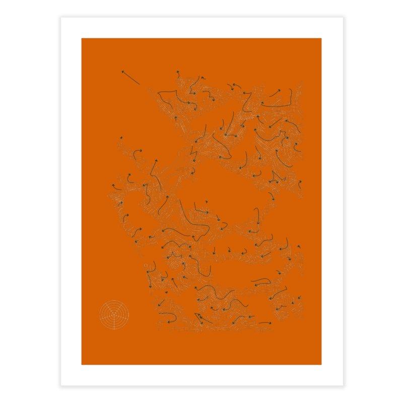 Layer 2 Home Fine Art Print by Prate
