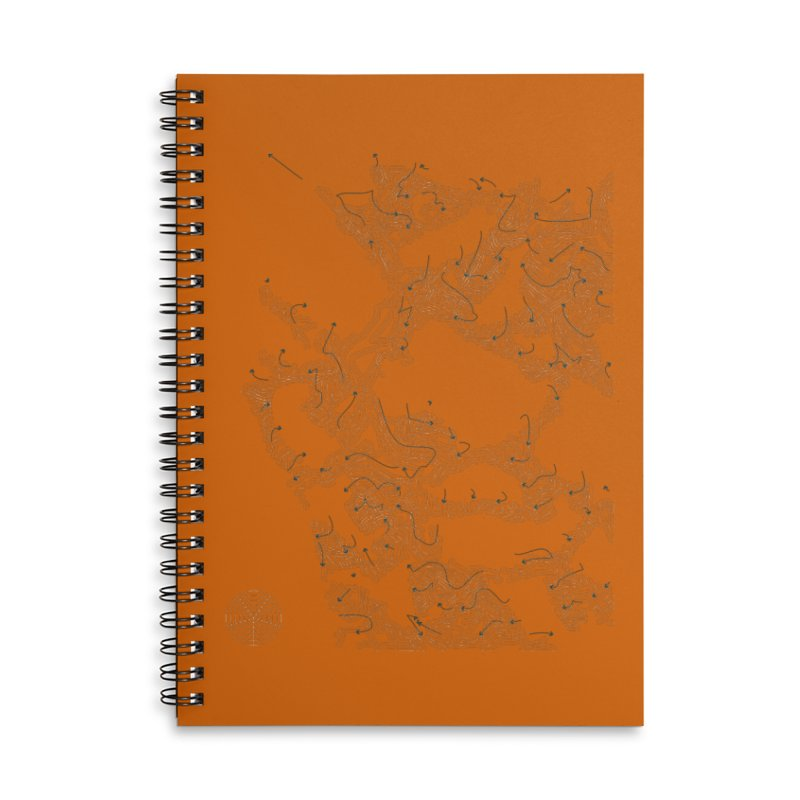 Layer 2 Accessories Lined Spiral Notebook by Prate