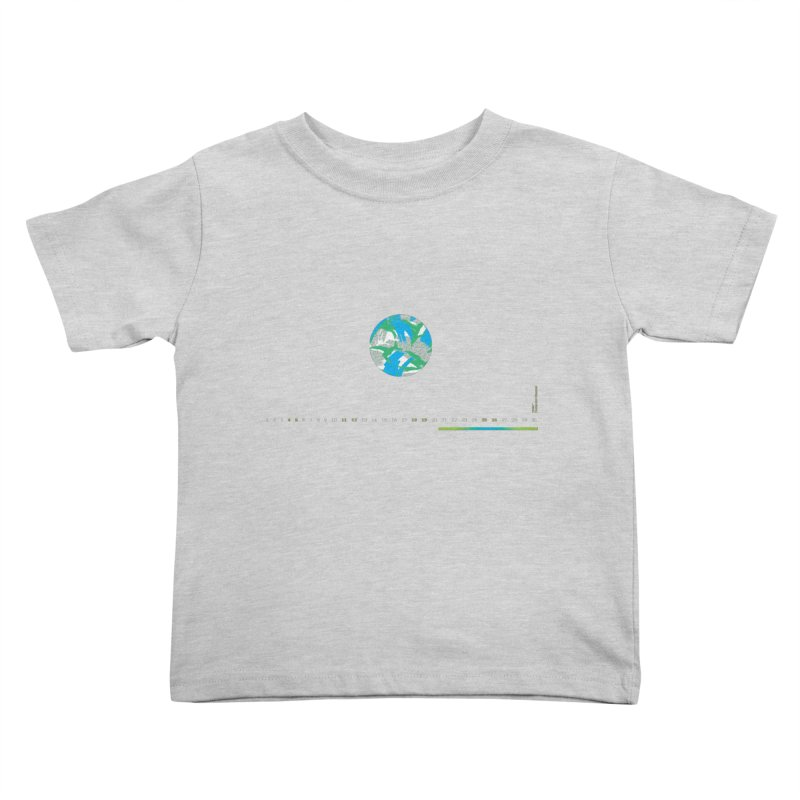 Layer 1 Kids Toddler T-Shirt by Prate