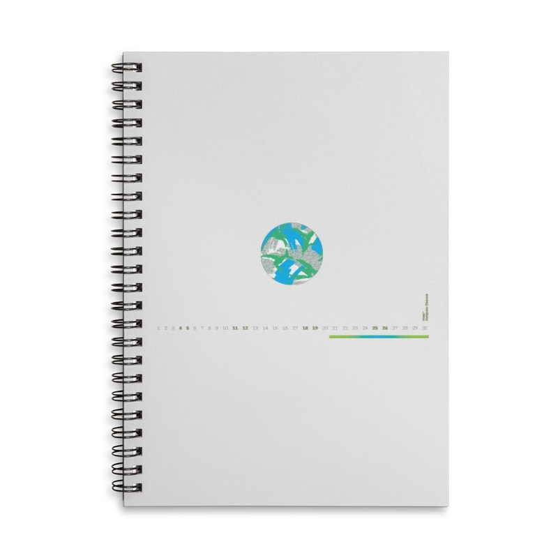 Layer 1 Accessories Lined Spiral Notebook by Prate