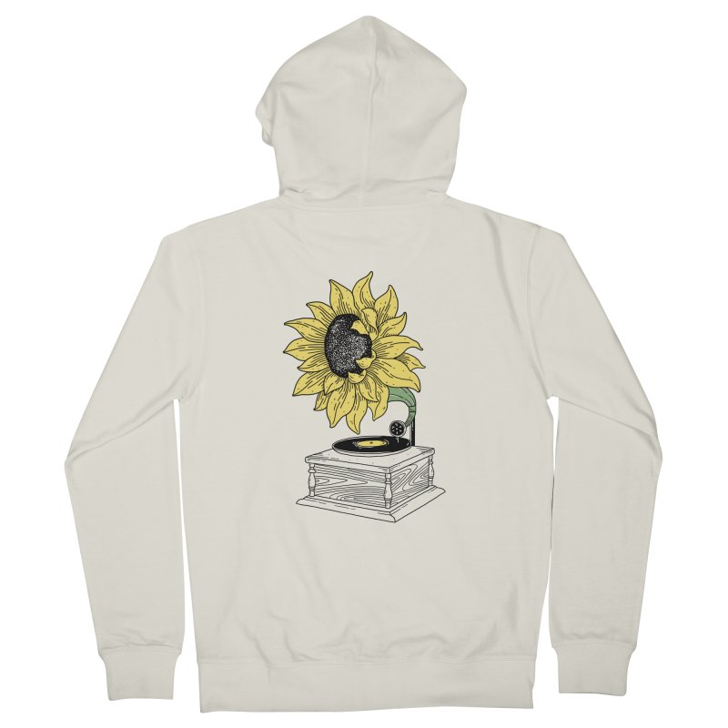 Singing in the sun Men's Zip-Up Hoody by prawidana's Artist Shop