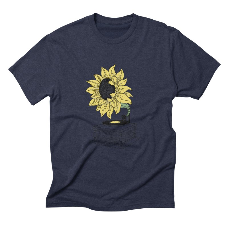 Singing in the sun Men's Triblend T-Shirt by prawidana's Artist Shop