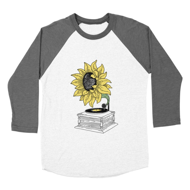 Singing in the sun Men's Baseball Triblend T-Shirt by prawidana's Artist Shop