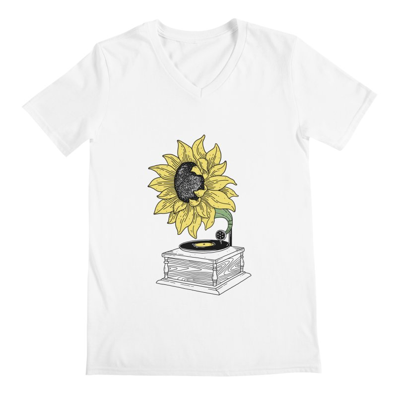 Singing in the sun Men's V-Neck by prawidana's Artist Shop
