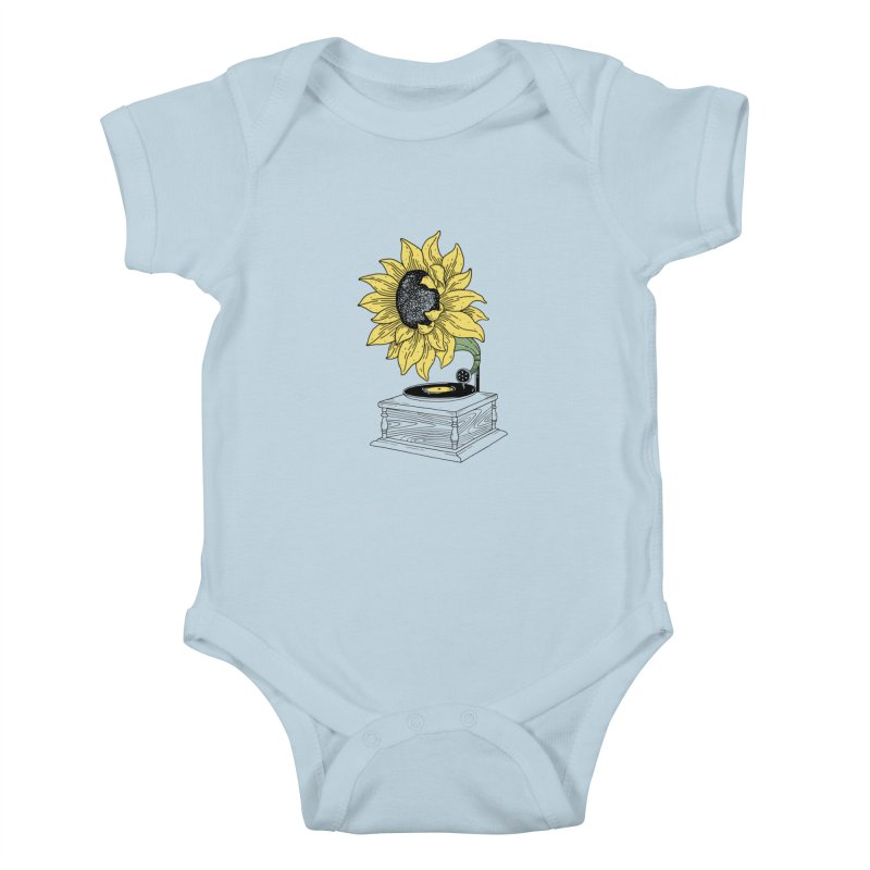 Singing in the sun Kids Baby Bodysuit by prawidana's Artist Shop