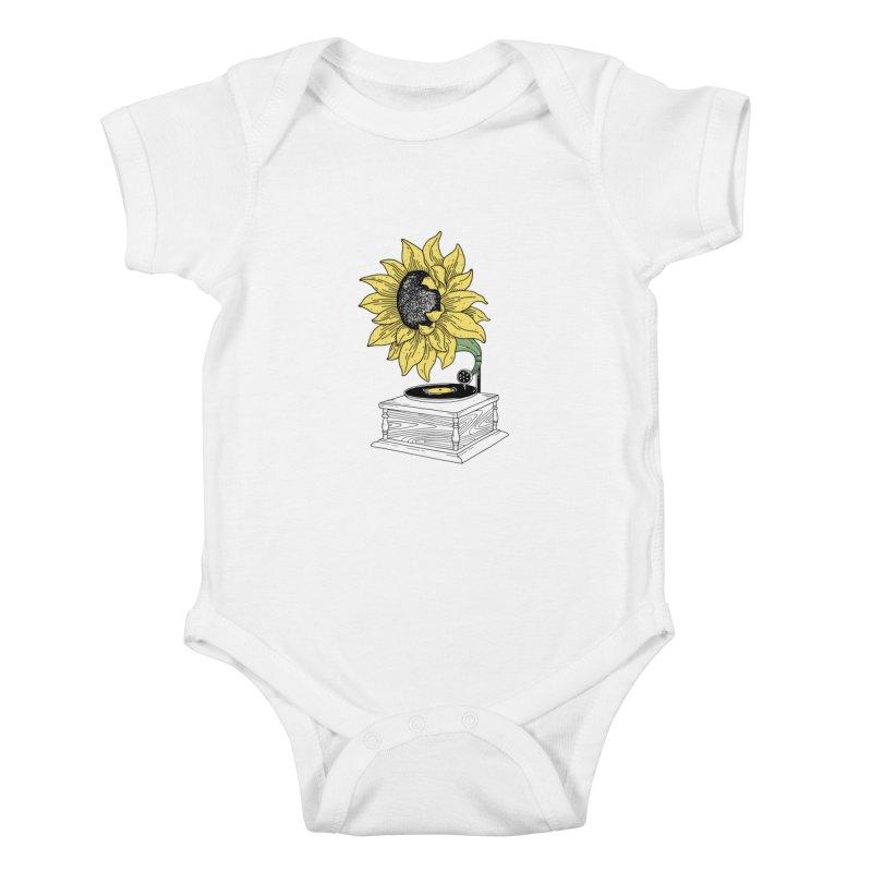 Singing in the sun Kids Baby Bodysuit by prawidana's Artist Shop