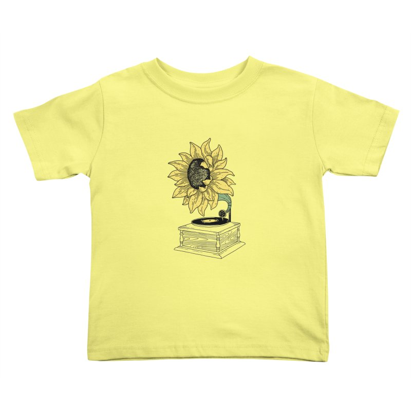 Singing in the sun Kids Toddler T-Shirt by prawidana's Artist Shop