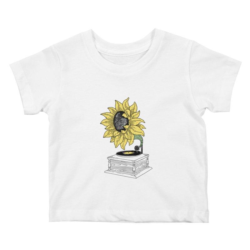 Singing in the sun Kids Baby T-Shirt by prawidana's Artist Shop