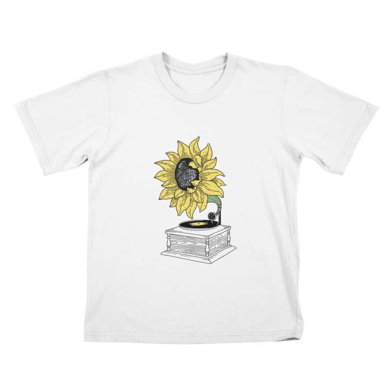 Singing in the sun Kids T-shirt by prawidana's Artist Shop