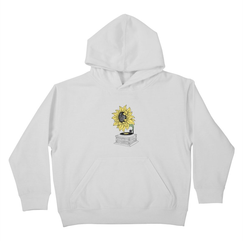 Singing in the sun Kids Pullover Hoody by prawidana's Artist Shop