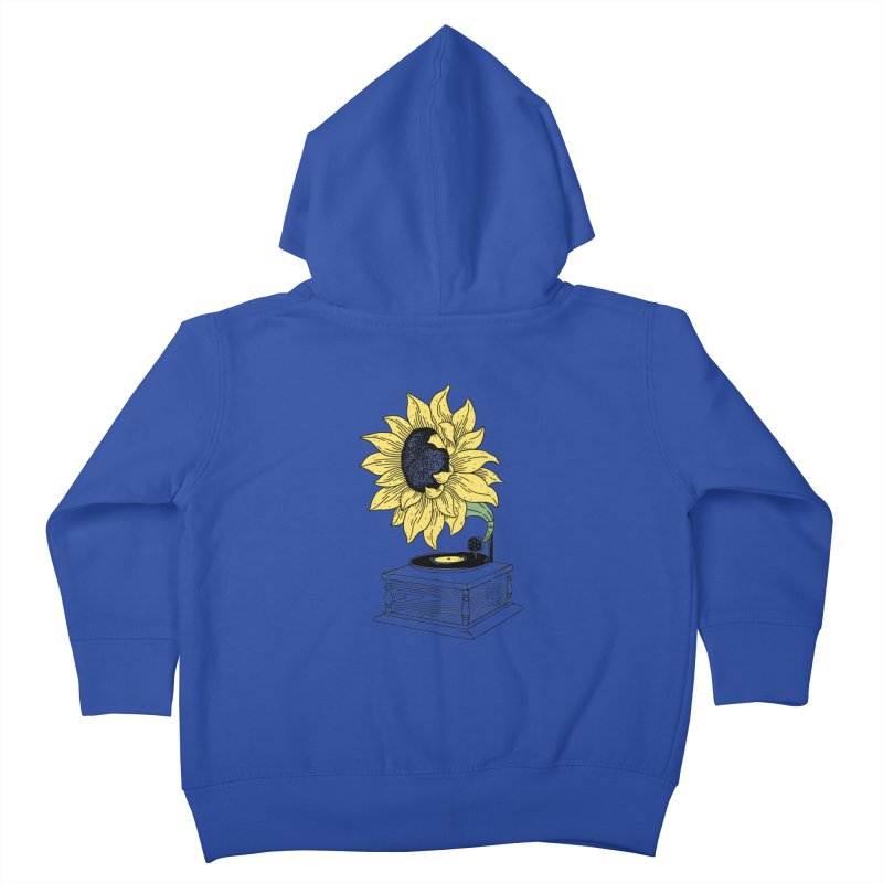 Singing in the sun Kids Toddler Zip-Up Hoody by prawidana's Artist Shop