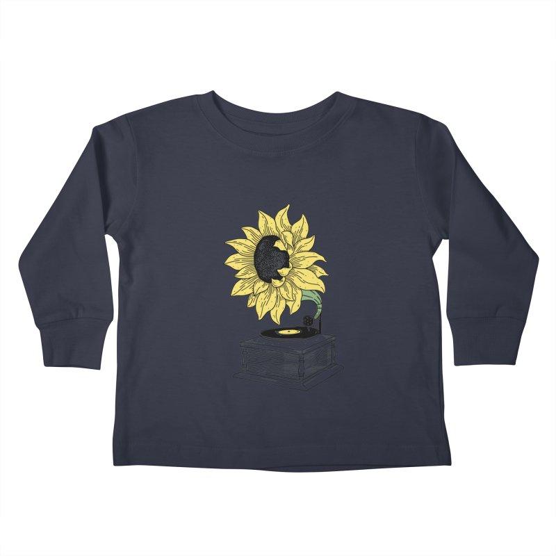 Singing in the sun Kids Toddler Longsleeve T-Shirt by prawidana's Artist Shop