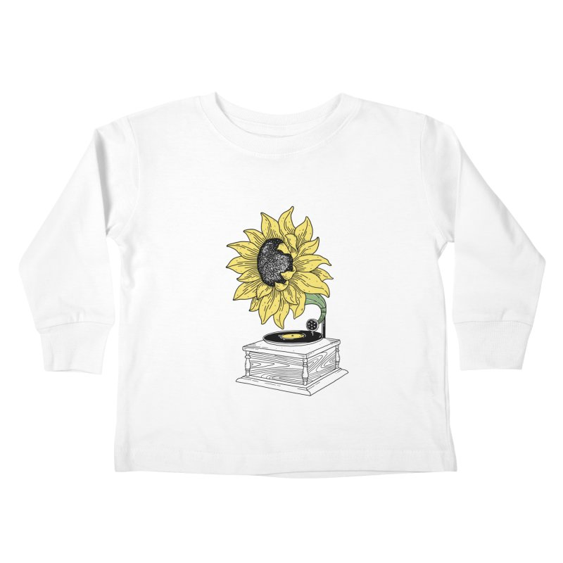 Singing in the sun Kids Toddler Longsleeve T-Shirt by prawidana's Artist Shop