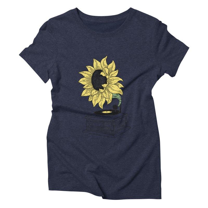 Singing in the sun Women's Triblend T-shirt by prawidana's Artist Shop