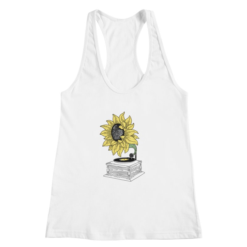 Singing in the sun Women's Racerback Tank by prawidana's Artist Shop