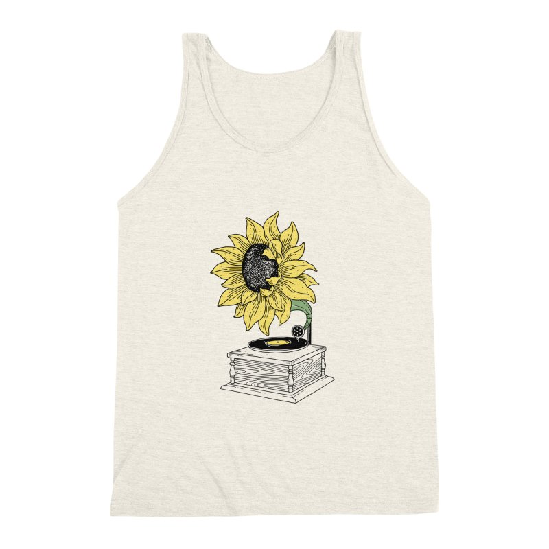Singing in the sun Men's Triblend Tank by prawidana's Artist Shop