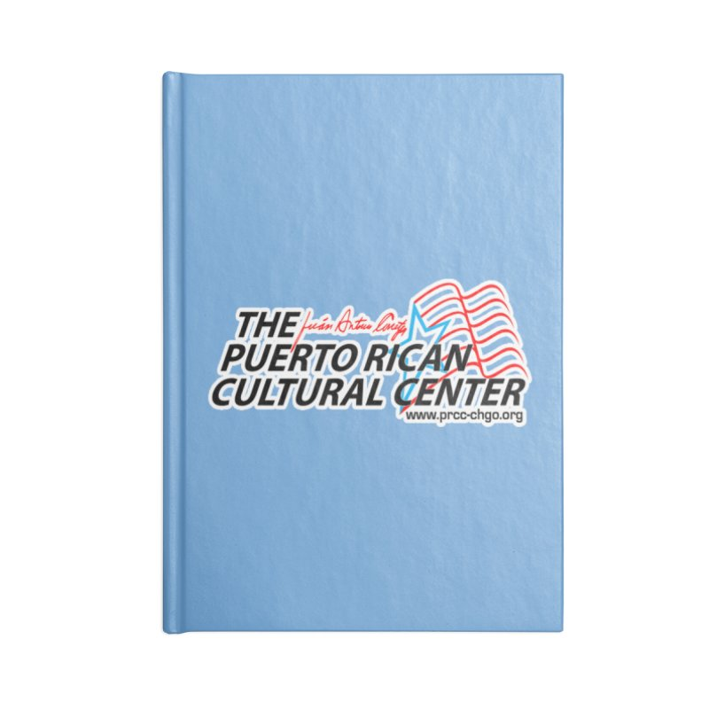Puerto Rican Cultural Center Accessories Blank Journal Notebook by PRCC Tiendita