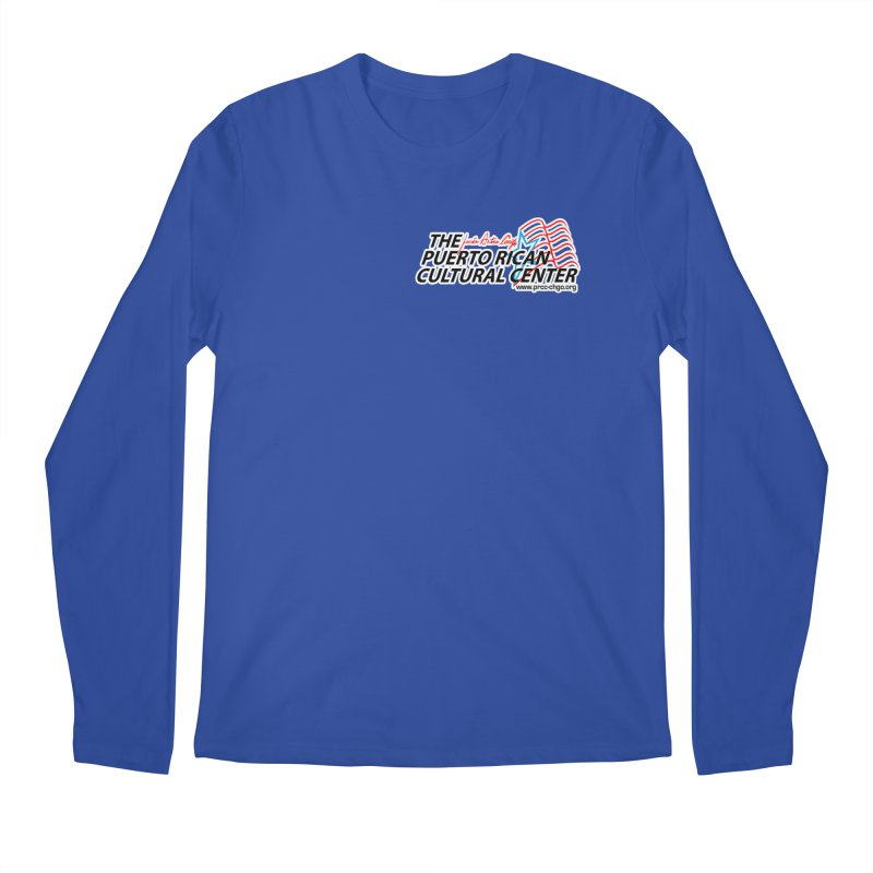 Puerto Rican Cultural Center Men's Regular Longsleeve T-Shirt by PRCC Tiendita