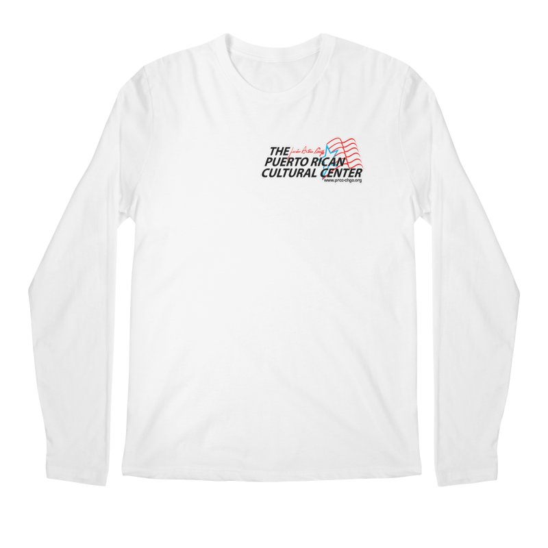 Puerto Rican Cultural Center Men's Regular Longsleeve T-Shirt by PRCC Tiendita