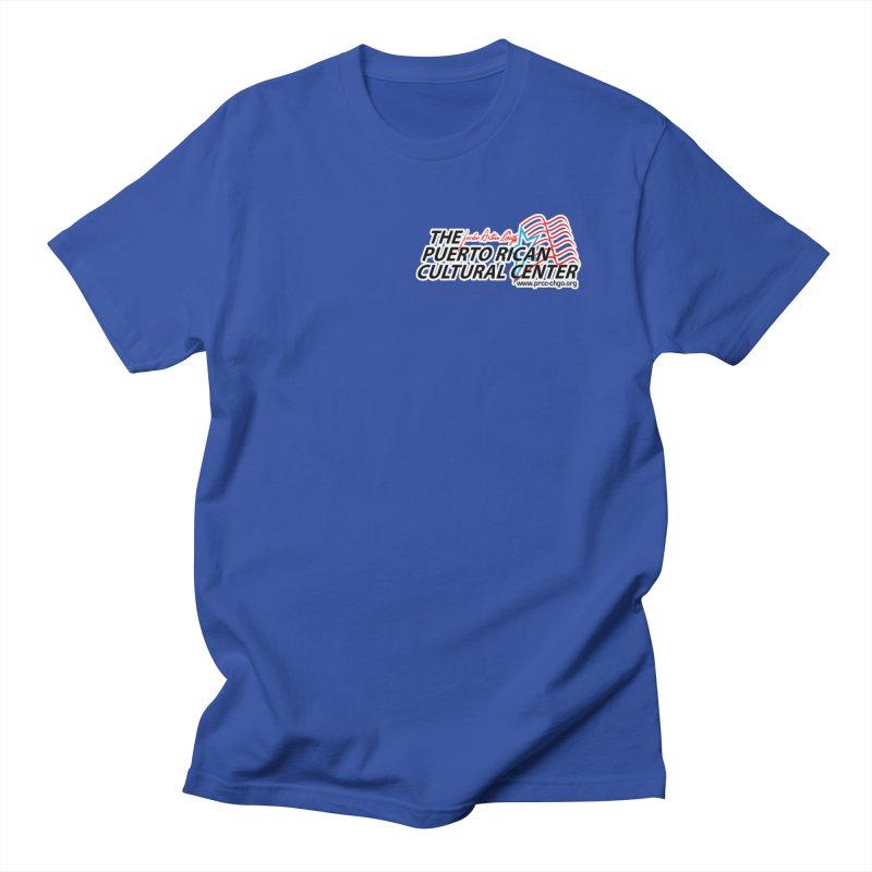 Puerto Rican Cultural Center Men's Regular T-Shirt by PRCC Tiendita