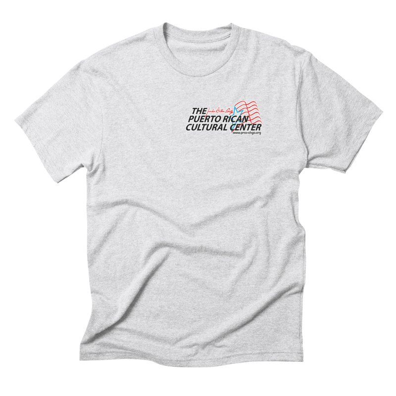 Puerto Rican Cultural Center Men's Triblend T-Shirt by PRCC Tiendita
