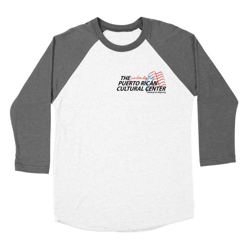 Puerto Rican Cultural Center Women's Baseball Triblend T-Shirt by PRCC Tiendita