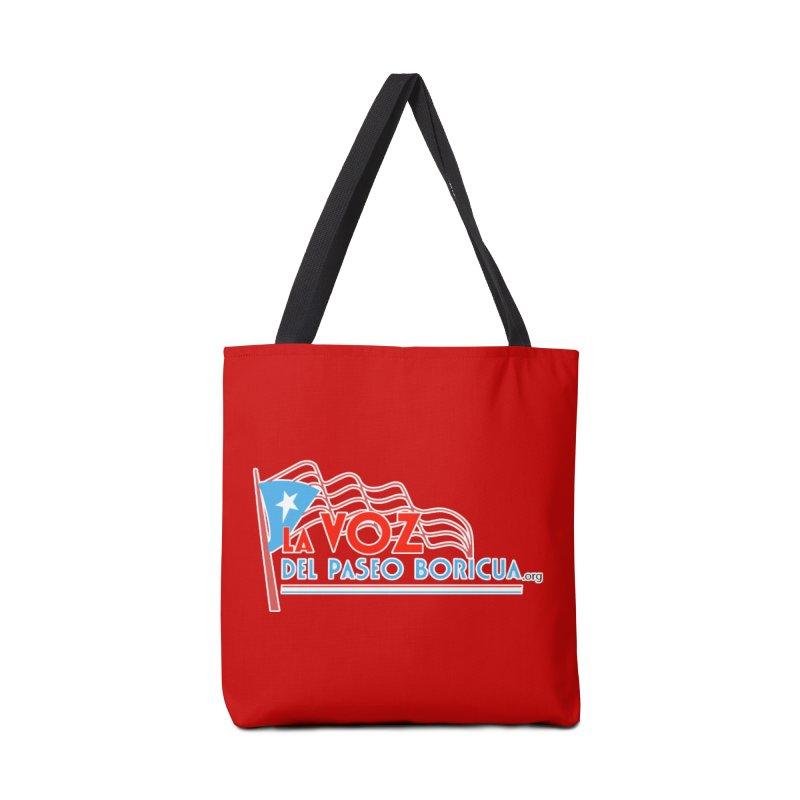 La Voz Del Paseo Boricua Accessories Bag by PRCC Tiendita