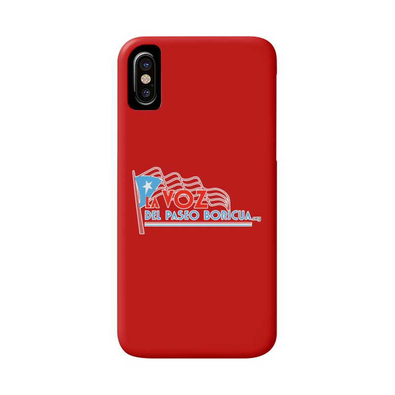 La Voz Del Paseo Boricua Accessories Phone Case by PRCC Tiendita