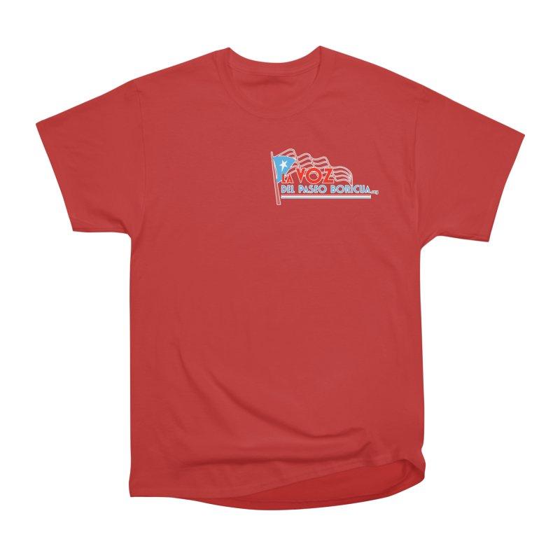 La Voz Del Paseo Boricua Women's Heavyweight Unisex T-Shirt by PRCC Tiendita