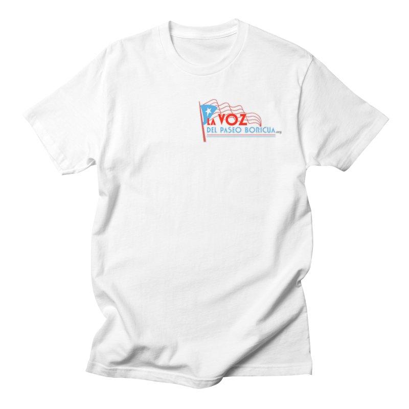 La Voz Del Paseo Boricua Women's Unisex T-Shirt by PRCC Tiendita