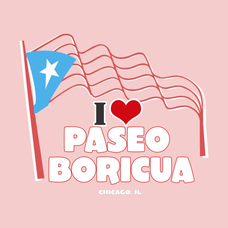 I LOVE PASEO BORICUA Men's T-Shirt by PRCC Tiendita